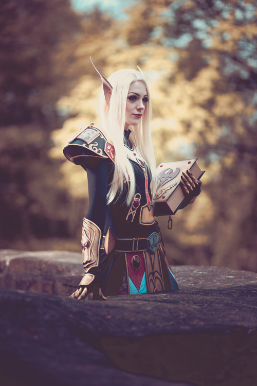 Blood Elf Paladin from World of Warcraft Cosplay