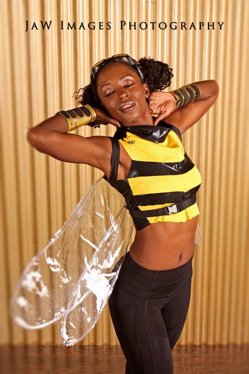 Bumblebee from Teen Titans Cosplay
