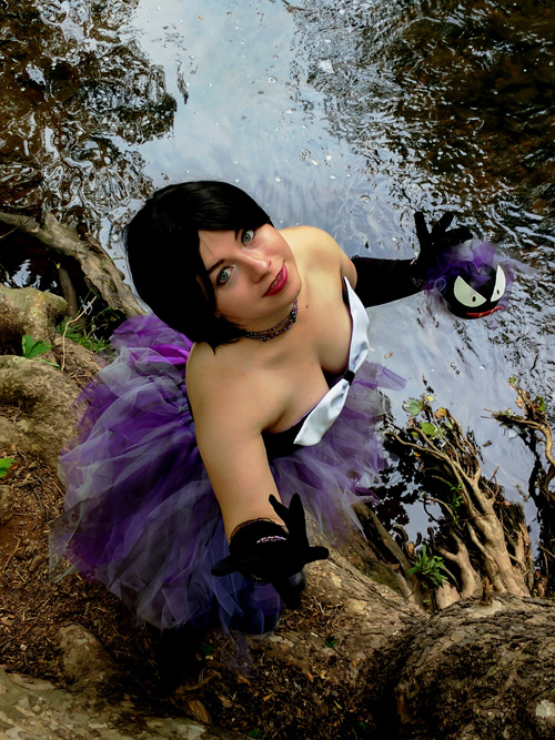 Gastly Gijinka Pokemon Cosplay