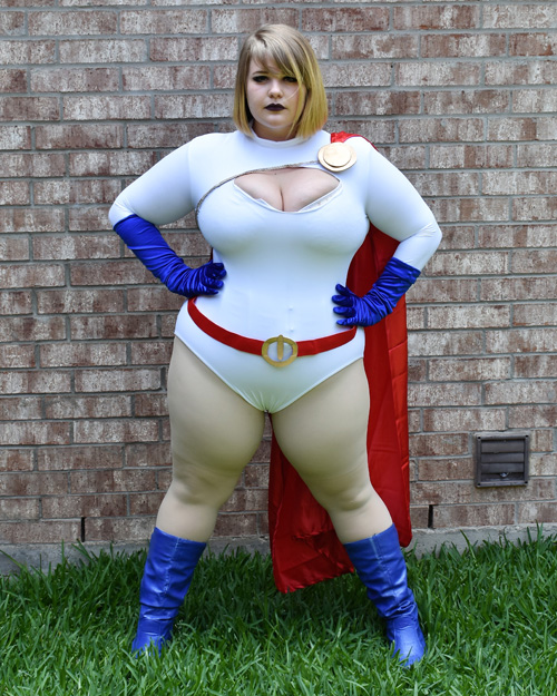 Harley Quinn & Power Girl Cosplay