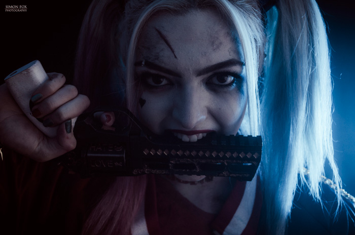 Harley Quinn from Suicide Squad Cosplay