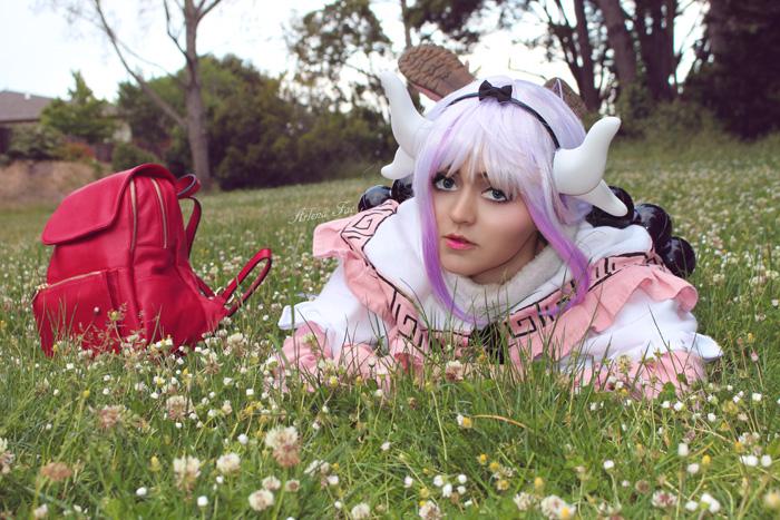 Kanna Kamui from Miss Kobayashis Dragon Maid Cosplay