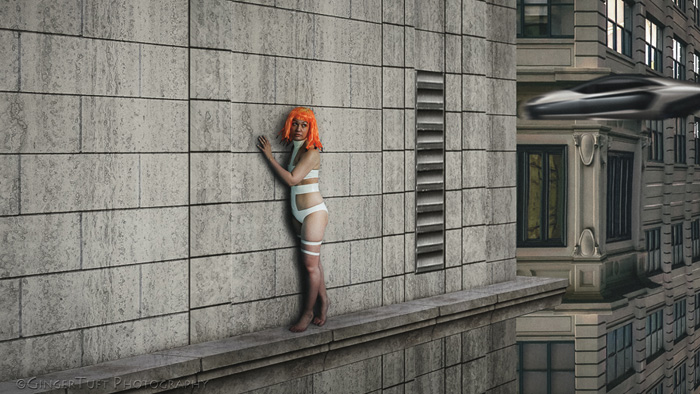 Leeloo from Fifth Element Cosplay