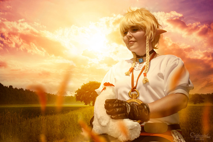 Linkle from Hyrule Warriors Cosplay