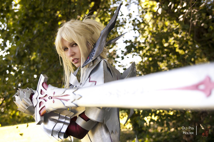 Mordred in Fate/Apocrypha Armor Cosplay