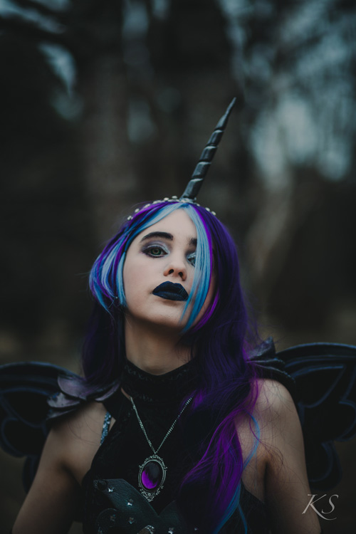 MLP Nightmare Moon Battle Gown Cosplay
