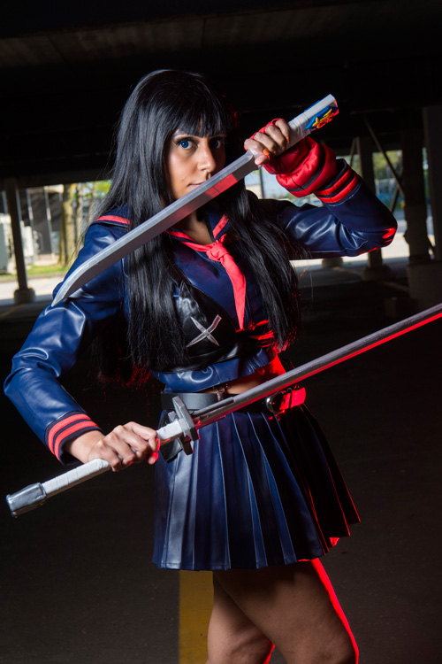 Satsuki Kiryuin from Kill La Kill Cosplay