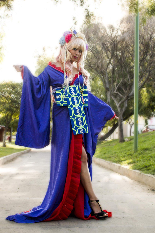 Sheryl Nome from Macross Frontier Cosplay