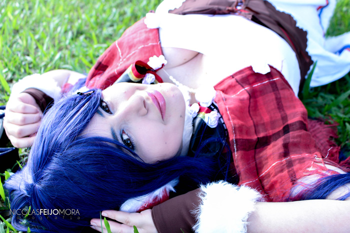 Umi Sonoda from Love Live! Cosplay