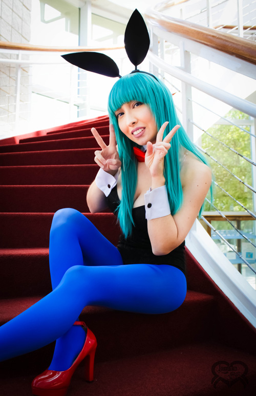 Bunny Bulma from Dragonball Cosplay