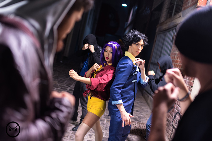 Faye & Spike from Cowboy Bebop Cosplay