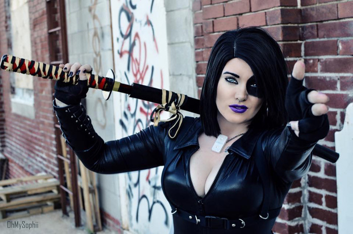 Domino Cosplay
