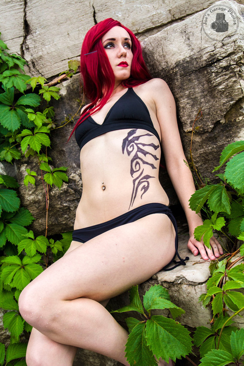 Katarina Pool Party Photoshoot