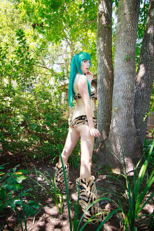 Lum from Urusei Yatsura Cosplay