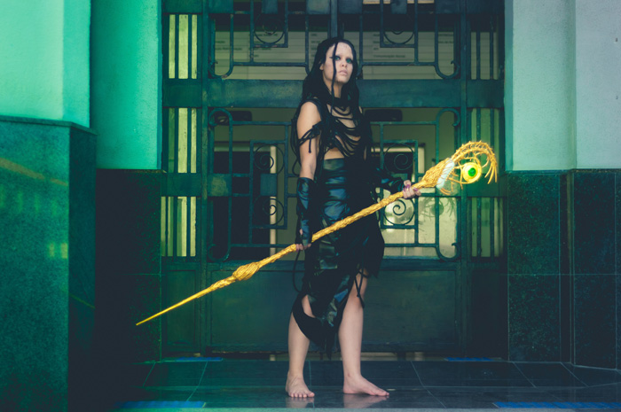 Rita Repulsa from Power Rangers Cosplay