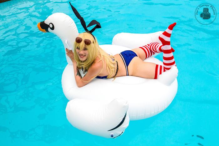 Shimakaze Swimsuit Photoshoot