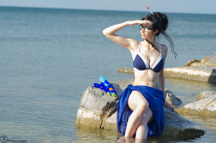Swimsuit Mei from Overwatch