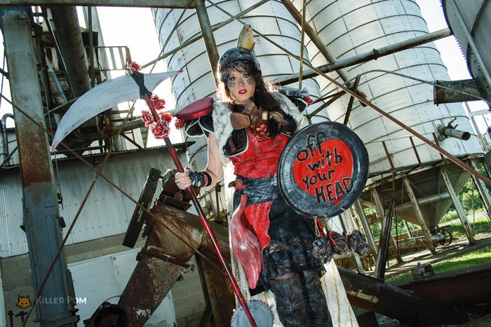Wasteland Wonderland Queen of Hearts Cosplay