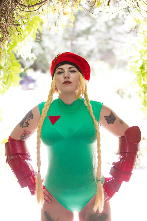 Cammy White from Street Fighter Cosplay