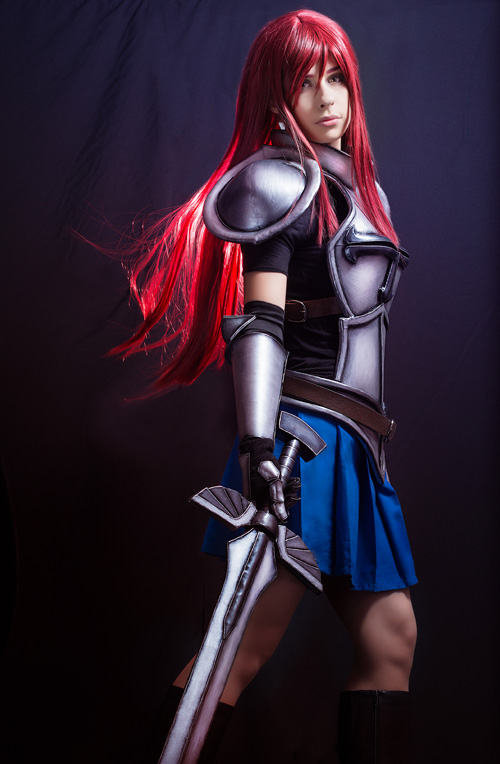 Erza scarlet from fairy tail cosplay - Fairy tail erza sexy ...