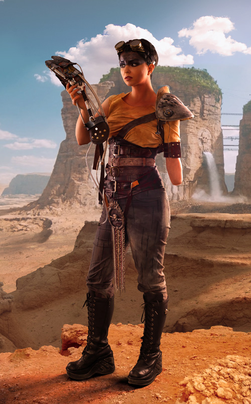 Furiosa from Mad Max: Fury Road Cosplay