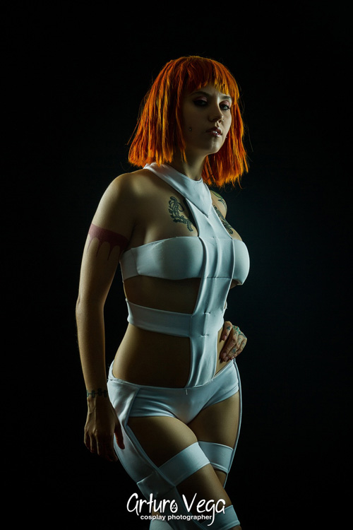 Leeloo from The Fifth Element Cosplays