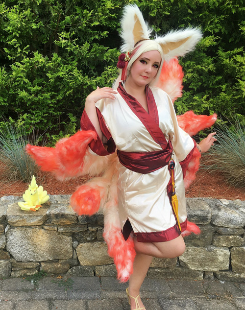 Ninetales from Pokemon Cosplay