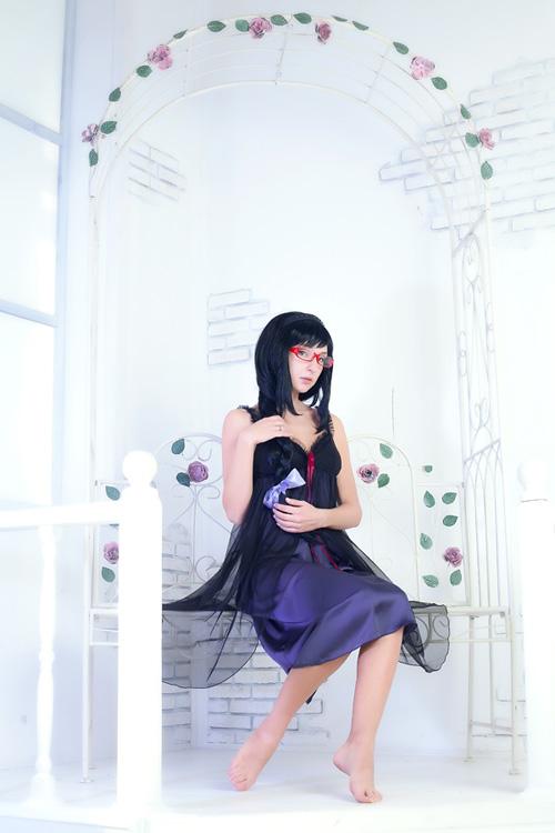 Akemi Homura from Madoka Magica Lingerie