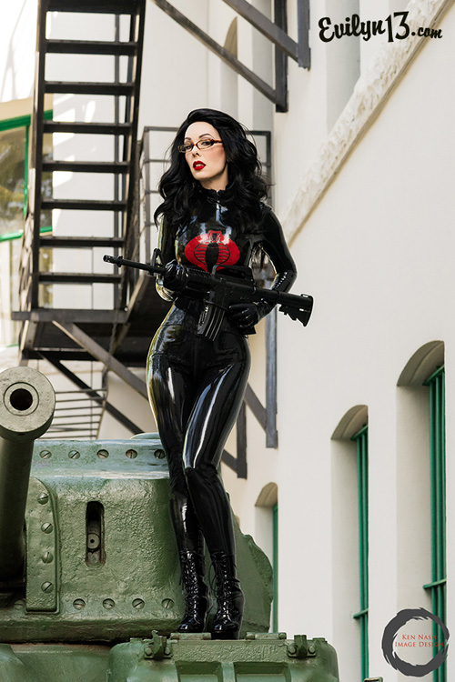 Baroness from G.I. Joe Cosplay