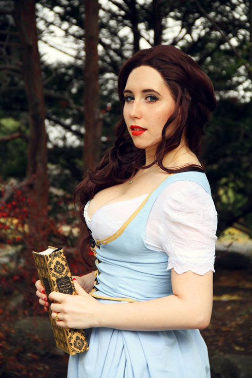 Belle from Once Upon a Time Cosplay