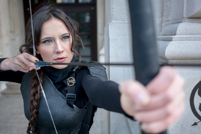 Katniss Everdeen from The Hunger Games Cosplay
