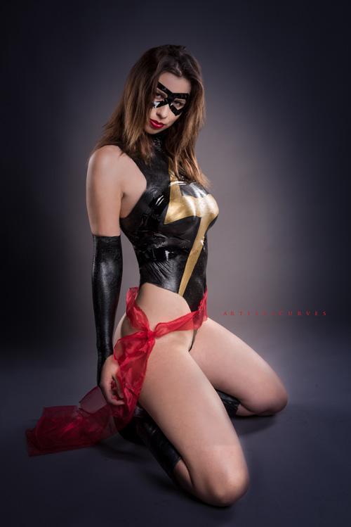 Ms. Marvel Liquid Latex Body Paint