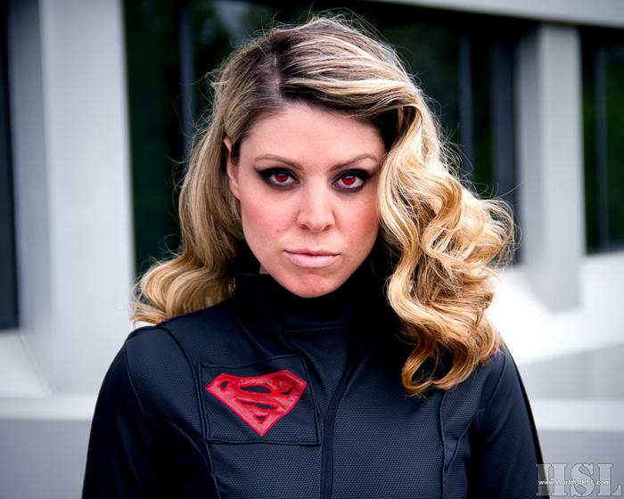 Red Kryptonite Supergirl Cosplay
