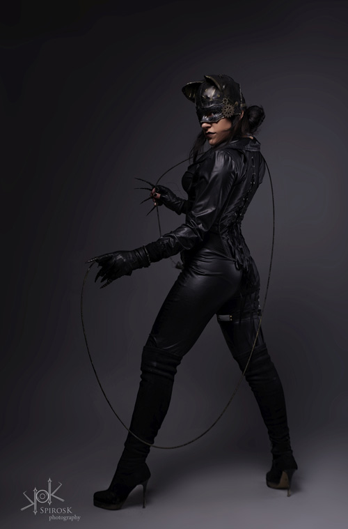 Steampunk Catwoman Cosplay