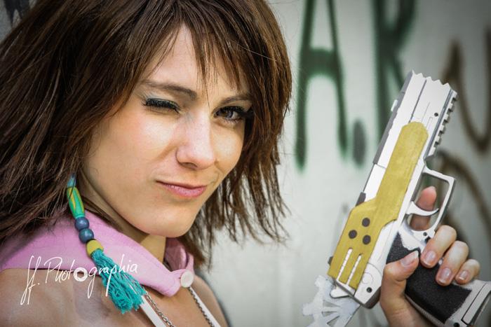 Yuna from Final Fantasy X-2 Cosplay