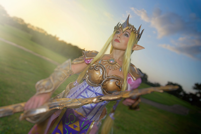 Zelda from Hyrule Warriors Cosplay