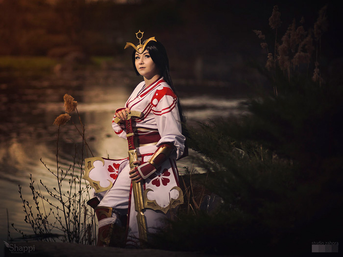Shining Heaven Amaterasu from SMITE Cosplay