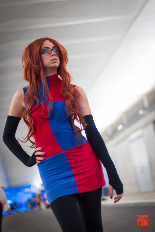 android 21 from dragon ball cosplay