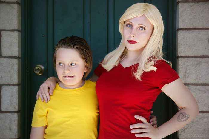 Beth & Morty from Rick & Morty Cosplay