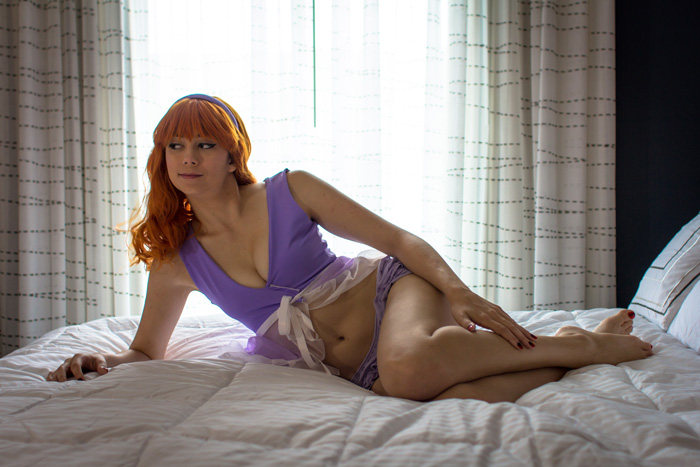 Nightie Daphne Boudoir Photoshoot