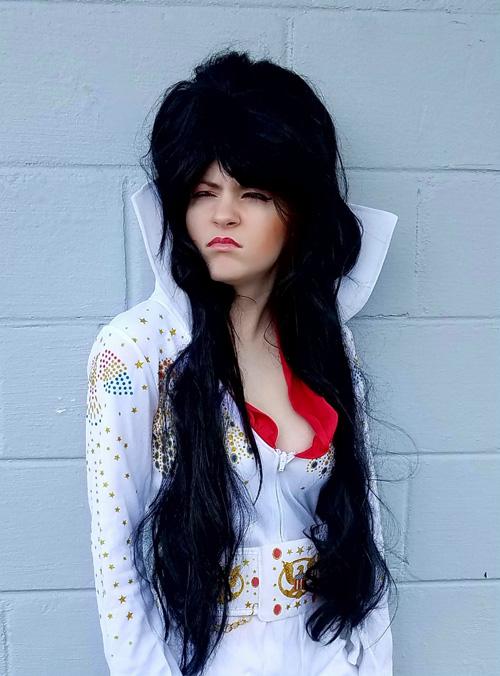 Elvris - Elvis x Elvira Mashup Cosplay