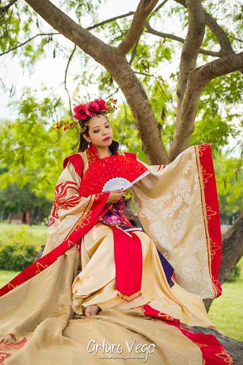 Guo Nüwang from Romance Of The Three Kingdoms Cosplay