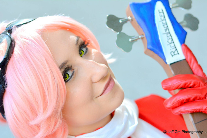 Haruko from FLCL Cosplay