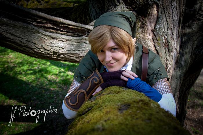 Link from Legend of Zelda Cosplay