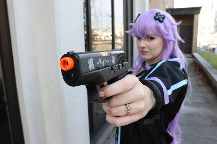 Adult Neptune from Hyperdimension Neptunia Cosplay
