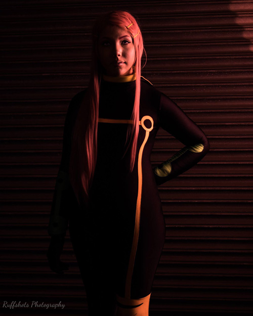 Plugsuit Anemone from Eureka Seven Cosplay