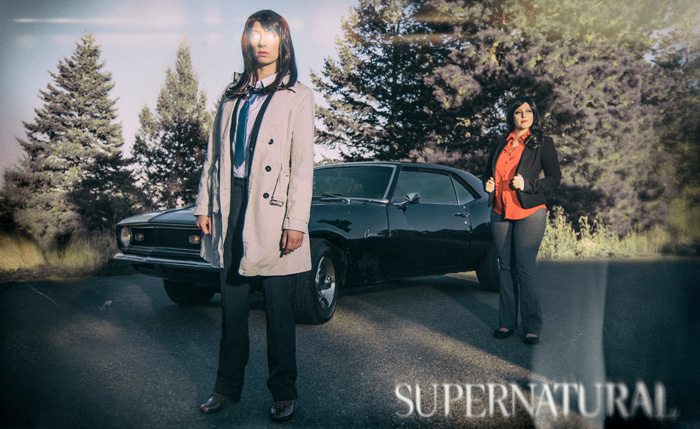 Supernatural Genderswap Group Cosplay