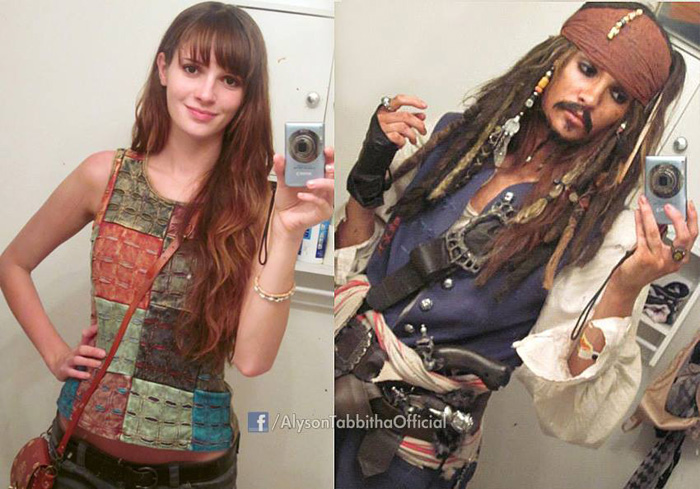 Before & After Cosplay