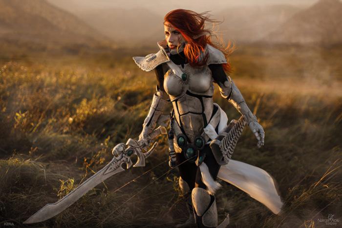 Eldar Howling Banshee from Warhammer 40k Cosplay