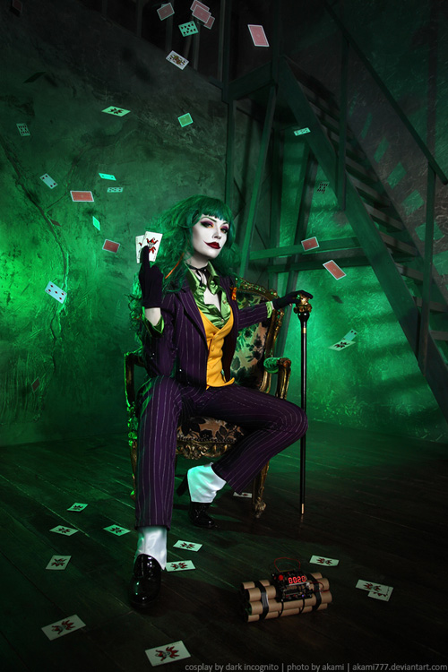 Female Joker Cosplay